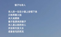 尚仁诗歌-镇子与诗人(视频版)