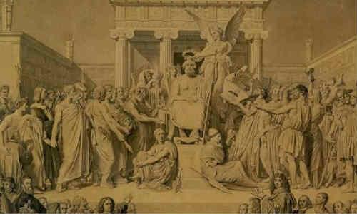 荷马史诗-伊利亚特(第十三卷1)