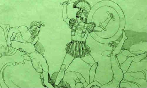 荷马史诗-伊利亚特(第十八卷1)