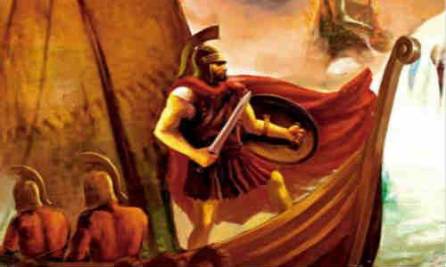 荷马史诗-伊利亚特(第二十一卷1)