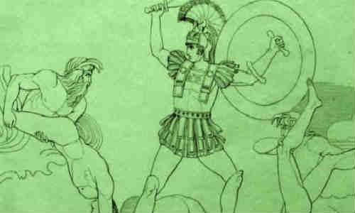 荷马史诗-伊利亚特(第二十一卷2)