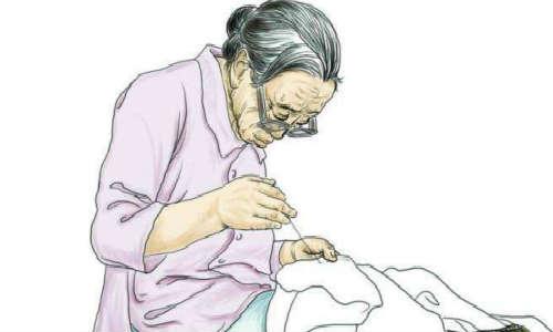 (雨诗曼)现代诗歌原创投稿作品三首-我的母亲、小时光、紫藤花又开了