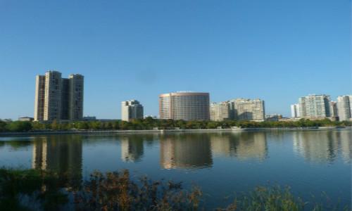 这里是鲤鱼湖 也是西湖